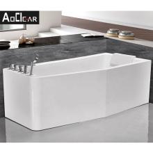 Aokeliya Japanese style bathtub natural whirlpool bath tub with one piece skirt