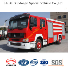 Caminhão de bombeiros de água 8ton Steyr Euro3