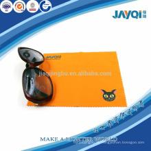 220gsm orange microfibre Brillen sauberes Tuch