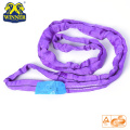 1T Purple Lifting Round SLing Ladingband