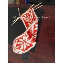 Рука трикотажные высокие носки с подвязками для женщин