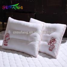 Linge d'hôtel / En gros pas cher blanc polyester microfibre remplissage hôtel / hôpital oreiller