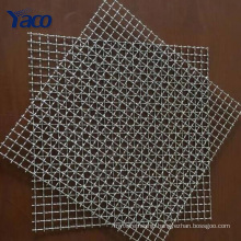high quality 304 stainless steel barbecue crimped wire mesh