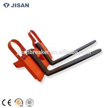 KOBELCO SK450 lifting fork,excavator lifting fork,lifting fork for excavator