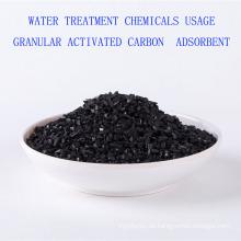 Wasseraufbereitung Chemikalien Verwendung körnige Aktivkohle Adsorbens