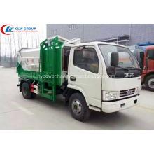HOT SALE Dongfeng 4cbm multi side loader truck
