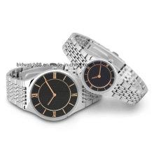Benutzerdefinierte Metall-Armbanduhren für Männer und Damen