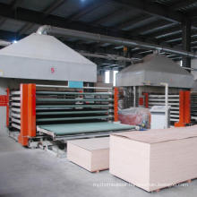 Hot Sale Laminated plywood hot press machine for furniture