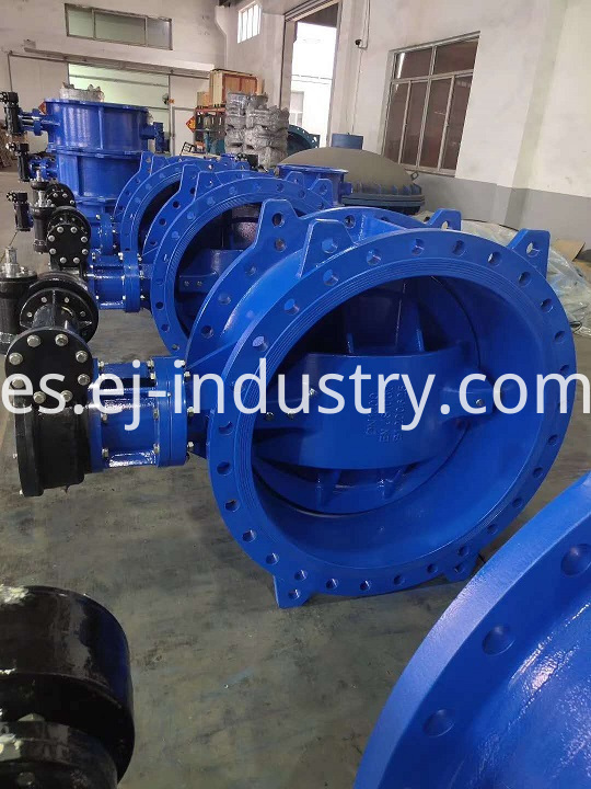 Butterfly Valves For Gearbox Operation
