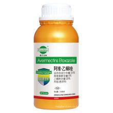 Горячая агрохимическая инсектицидная композиция Sc из 20% этаксала + авермектин 5%