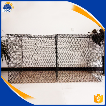 hot selling pvc coated gabion baskets