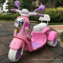 Preiswertes Kinderelektrisches Dreirad-Motorrad für Kinder