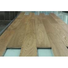 Suelo de madera dirigido del roble natural del grado de Ab, madera de roble de 2-6m m, grueso total 10-20m m
