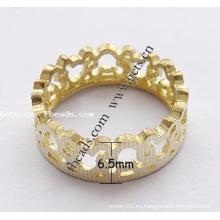 2015 Gets.com latón dedo anillo de joyería