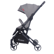 Carrinho de bebê infantil para avião com assento reclinável para o sono do bebê
