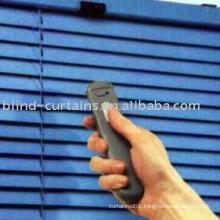Electric motorized aluminium venetian blind