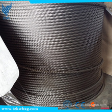 CE Certification and Construction Application cable 304 7x19 stainless steel wire rope                                                                                                         Supplier's Choice