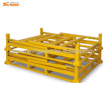 warehouse foldable stacking truck tyre rack