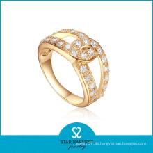 Echtes Kostüm 925 Sterling Silber Ring mit niedrigem MOQ (R-0343)