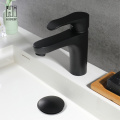 HIDEEP Black Full Copper Basin Faucet