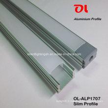 Profilé en aluminium extrudé mince anodisé par LED