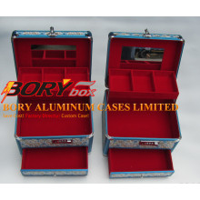 High Quality ABS Travel Portable Aluminum Case Make up