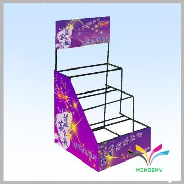 World cup football metal display rack retail display rack