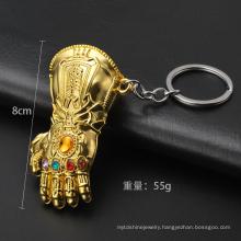 Endgame 3D Hand model Marvel Movies Alliance Thanos Gloves Keychain