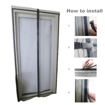 Polyester Magnet Insect Screen Curtain