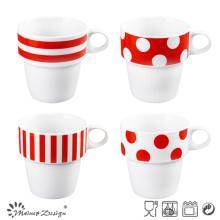 9oz Hot Selling Stable Porcelain Mug