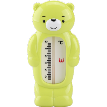 Cartoon Bear Baby Accessory Badvattentermometer