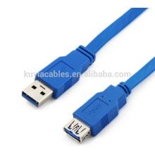 Câble bleu haute vitesse usb 3.0 50cm, 1m, 1.5m, 2m, câble