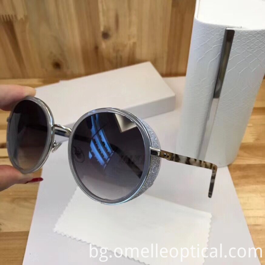 Oval Colored Sunglasses