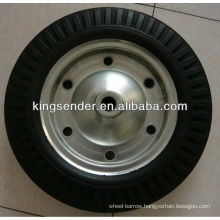 """16"""" solid rubber wheel"""