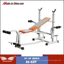 Ensembles libres de banc de poids libre d'équipement de forme physique (ES-527)