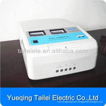 TSD-10kw servo motor type wall mounted ac home voltage stabilizer