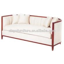 European style wooden living room sofa XYN1056