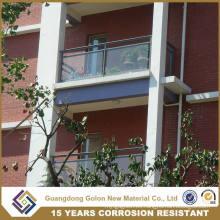 Moderno Inicio Balcón Barandilla de vidrio para interiores