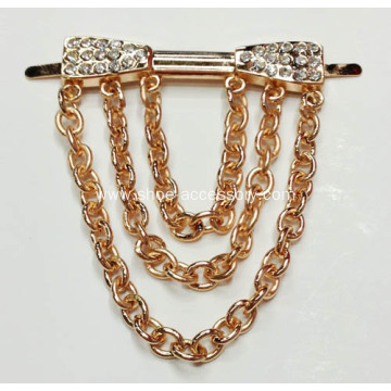 Rhinestone Shoe Clips, Decorative Shoe Chain, Shoes Accessories