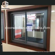 Синие тонированные стекла раздвижные окна алюминиевые окна трек