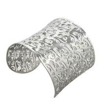 Brazaletes huecos de la pulsera de las pulseras de la declaración del acero inoxidable de la manera punky hueco de la barba de los brazaletes de las pulseras de los últimos brazaletes del diseño joyería