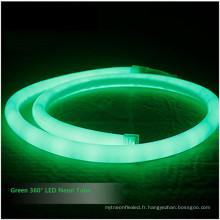 IP68 Anti UV SMD 180 360 degrés RVB a mené la lumière de corde de néon