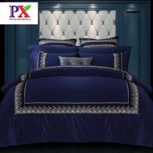 Bed Set feuille couette couverture de l'ensemble de literie de dentelle