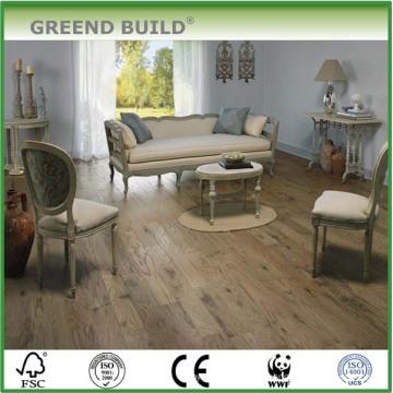 Pisos de madera sólida de roble resistente al desgaste
