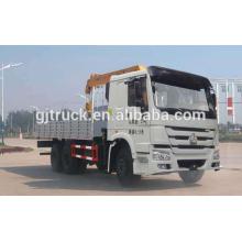 Sinotruk HOWO camión grúa / grúa / grúa de elevación / grúa camión / grúa con camión / grúa derecha