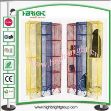 UK Coloured Mesh Lockers for Storage