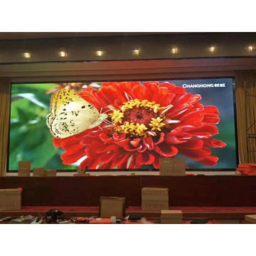Pantalla LED a todo color para colgar en interiores P1.53
