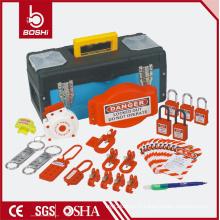 Sac de combinaison de verrouillage de sécurité BD-Z14, LOTO BAG avec cadenas, hachage, verrouillage du disjoncteur, verrouillage de la fiche