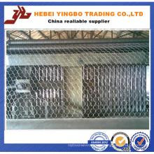 Hochwertige meistverkaufte Tier-Sechskant-Draht-Ineinander greifen-Maschine