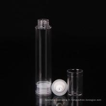 Bouteille de pompe en plastique 50ml Pompe de soins de la peau Bouteille airless cosmétique (NAB06)